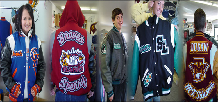 Wear a Letterman Jacket